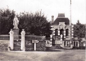Place de la mairie en 1959